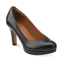 Women's Clarks Delsie Bliss Black Leather