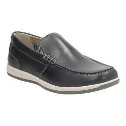 Men's Clarks Fallston Step Loafer Navy Full Grain Leather