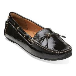 Women's Clarks Dunbar Groove Black Patent Leather