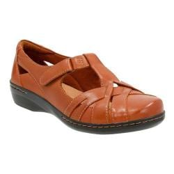 Women's Clarks Evianna Doyle Slip On Tan Leather