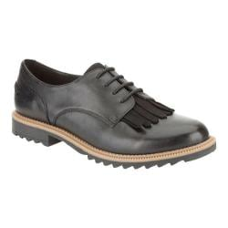Women's Clarks Griffin Mabel Oxford Black Leather