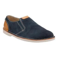 Men's Clarks Hinton Easy Slip On Blue Suede