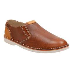 Men's Clarks Hinton Easy Slip On Tan Leather