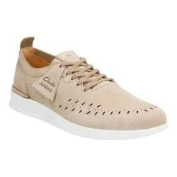 Men's Clarks Jacobee Lo Sneaker Sand Nubuck