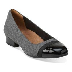 Women's Clarks Keesha Rosa Slip-On Grey Fabric
