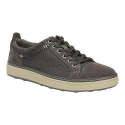 Men's Clarks Lorsen Edge Sneaker Black Combi Suede