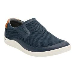 Men's Clarks Mapped Step Slip On Blue