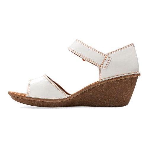454699cc1a1 ... Thumbnail Women  x27 s Clarks Orient Sea Wedge Sandal White Leather