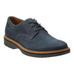 Men's Clarks Newkirk Plain Blue Nubuck