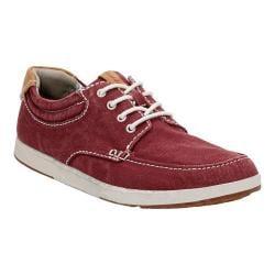 Men's Clarks Norwin Vibe Sneaker Burgundy