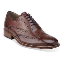 Men's Clarks Penton Limit Chestnut Leather