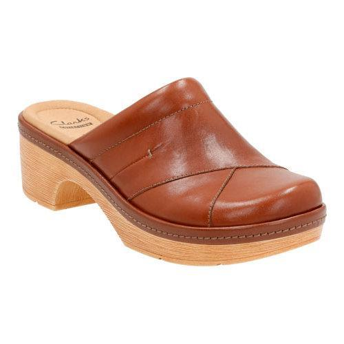 Womens Shoes Clarks Preslet Sheen Tan