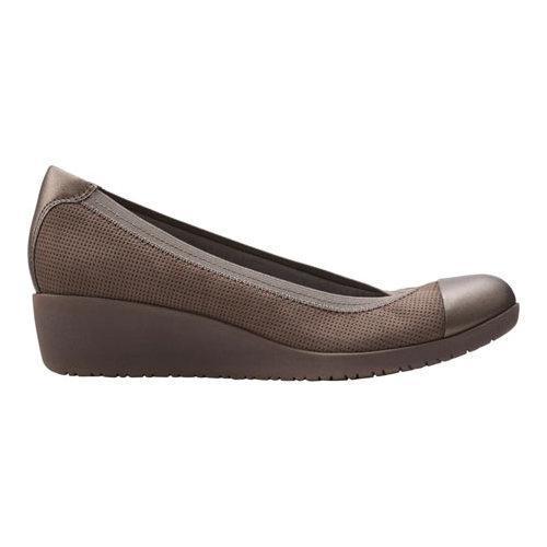 9e98c2e99f4 ... Thumbnail Women  x27 s Clarks Petula Sadie Cap Toe Shoe Taupe Nubuck  Leather ...