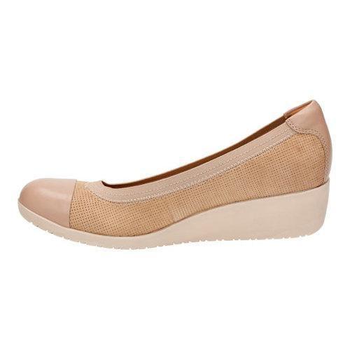 2b623bb9780 ... Thumbnail Women  x27 s Clarks Petula Sadie Cap Toe Shoe Sand Nubuck Full