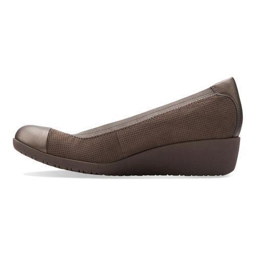 d9eda56c671 ... Thumbnail Women  x27 s Clarks Petula Sadie Cap Toe Shoe Taupe Nubuck  Leather