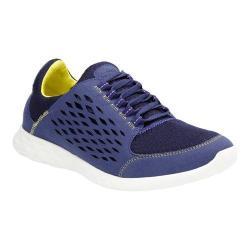 Men's Clarks Seremax Lace Sneaker Navy Synthetic