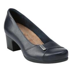 Women's Clarks Rosalyn Belle Navy Leather