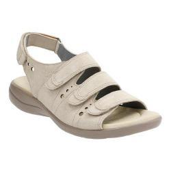 Women's Clarks Saylie Witman Strappy Sandal Sand Suede