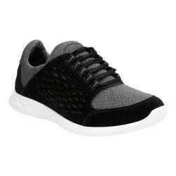Men's Clarks Seremax Lace Sneaker Black Suede
