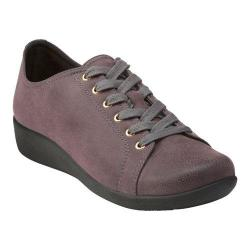 Women's Clarks Sillian Glory Walking Shoe Flagstone Synthetic