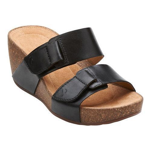 57699ca0de35f Shop Women s Clarks Temira East Black Leather - Free Shipping On Orders  Over  45 - Overstock.com - 11785489