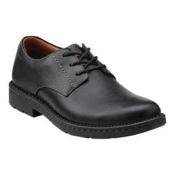Men's Clarks Stratton Way Black Leather