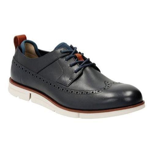 b288da21 Men's Clarks Trigen Limit Brogue Navy Leather