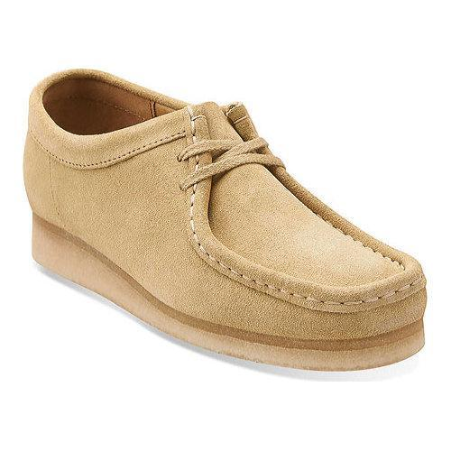 Women's Clarks Wallabee Maple Suede