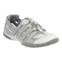 Women's Clarks Vailee Frost Sneaker Light Grey Nubuck