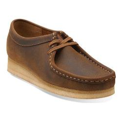 Women's Clarks Wallabee Beeswax/Beeswax Leather