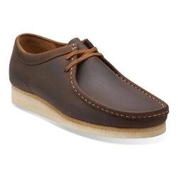 Men's Clarks Wallabee Beeswax/Beeswax Leather