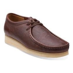 Men's Clarks Wallabee Brown Tumbled Leather