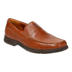 Men's Clarks Un.Easley Twin Loafer Tan Leather