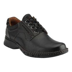 Men's Clarks Un.Ravel Black Leather
