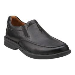 Men's Clarks Untilary Easy Slip On Black Leather