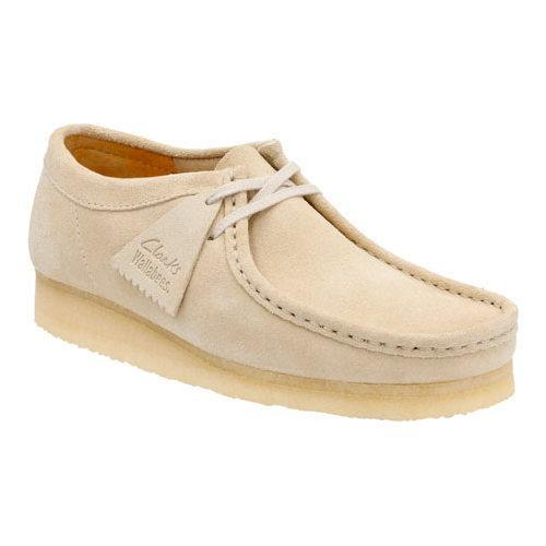 71cb3785edbb9 Shop Men s Clarks Wallabee Off White Suede - Free Shipping Today -  Overstock - 11785632