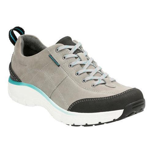 7e82c19c1 Shop Women s Clarks Wave.Trek Walking Shoe Grey Nubuck - Free Shipping On  Orders Over  45 - Overstock - 11785664