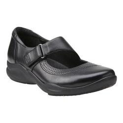 Women's Clarks Wave Wish Mary Jane Black Leather