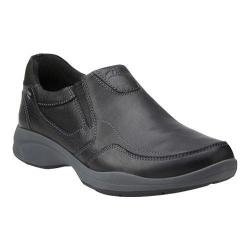 Men's Clarks Wavekorey Free Slip On Black Leather