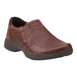 Men's Clarks Wavekorey Free Slip On Brown Leather