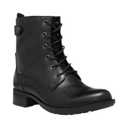 Women's Cobb Hill Carrie Lace-Up Boot Black Leather