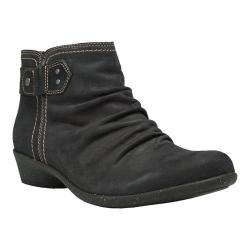 Women's Cobb Hill Nicole Ankle Boot Black Leather