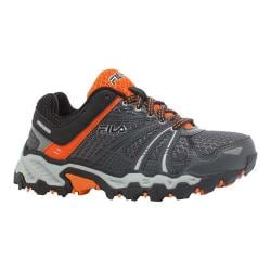 Boys' Fila TKO TR Trail Running Shoe Castlerock/Vibrant Orange/Black