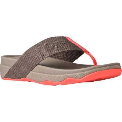 ec95efa4c2a7 Shop Women s FitFlop Surfa Thong Sandal Mink - Free Shipping Today -  Overstock - 11786145