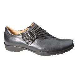 Women's Gabor 94-473 Slip On Loafer Black Calf