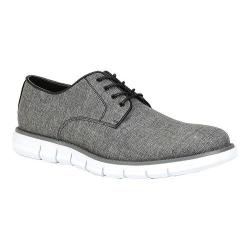 Men's GBX Heet Lace Up Shoe Black Textile/Linen