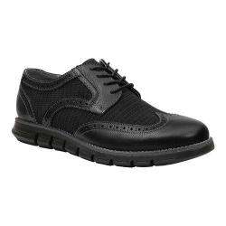 Men's GBX Hirt Wing Tip Black Suede