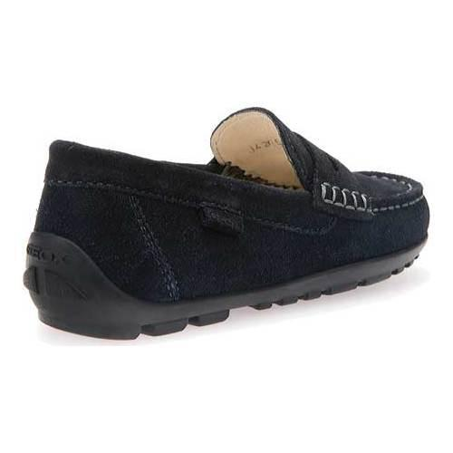 922fc192388 ... Thumbnail Boys  x27  Geox Jr Fast Penny Loafer J42G5B Navy Suede