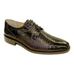 Men's Giorgio Brutini 21008 Chocolate Croco Print Leather