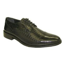 Men's Giorgio Brutini 21008 Black Croco Print Leather